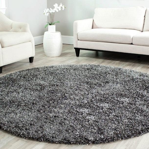 thảm hình tròn phòng khách 3