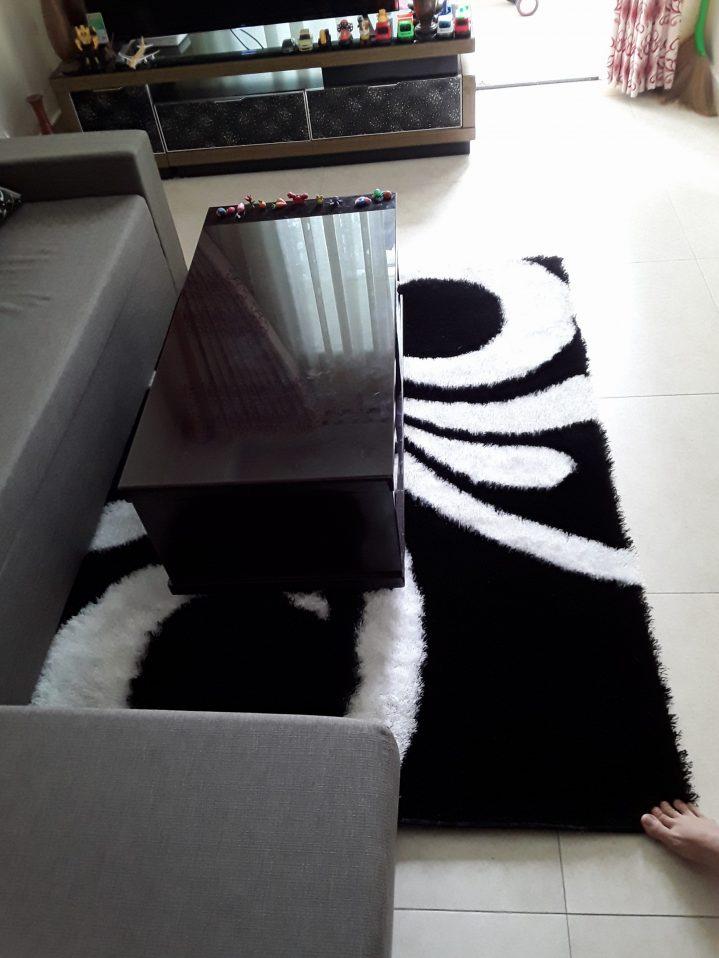 thảm trải phòng khách đẹp bud