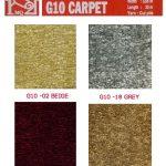 thảm len trải sàn g10