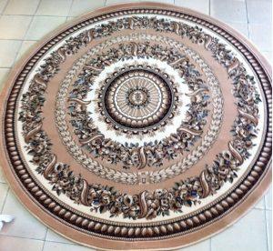 thảm tròn phòng khách 2