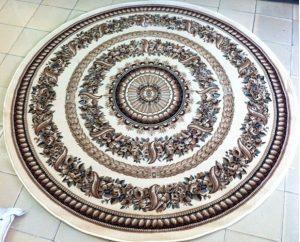 thảm tròn phòng khách 3