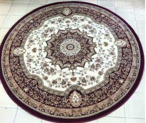 thảm tròn phòng khách 5
