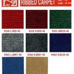 Thảm trải sàn giá rẻ Ribbed
