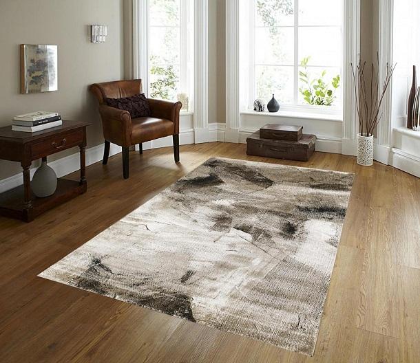 thảm lông trải sàn phòng khách perfect