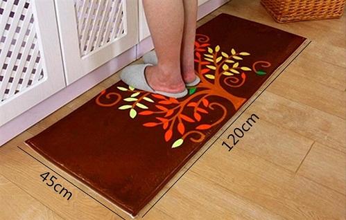 thảm lót sàn nhà bếp cây