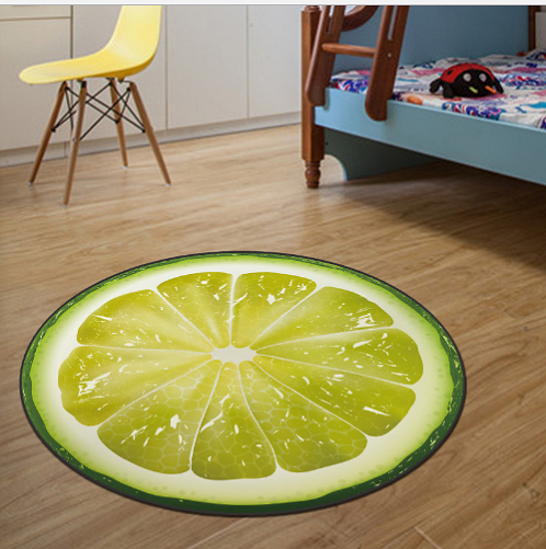 thảm trải sàn phòng ngủ trái cam