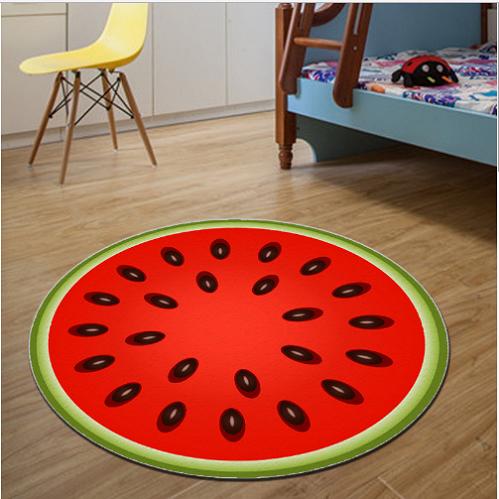 thảm trải phòng ngủ trái dưa hấu