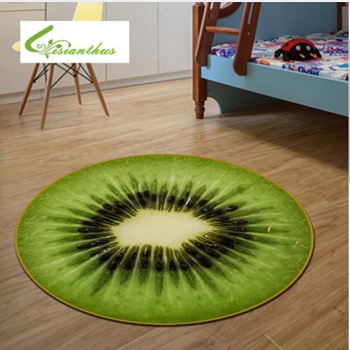 thảm trải phòng ngủ trái Kiwi