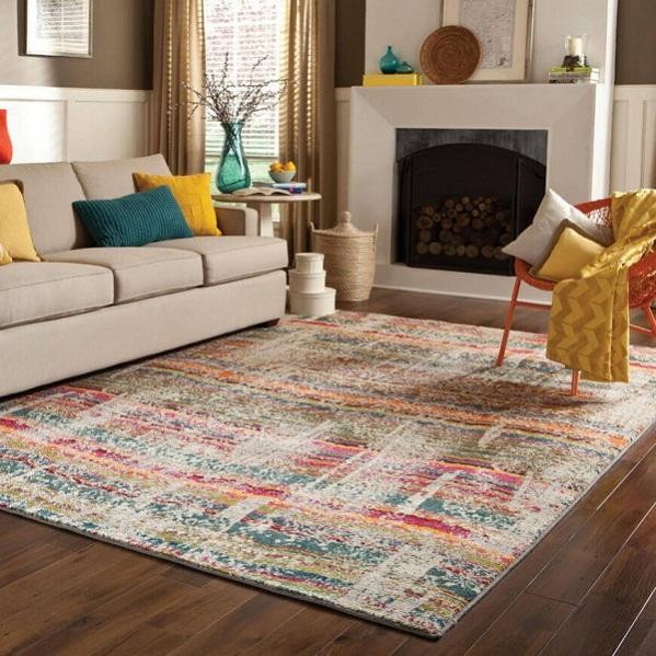thảm lót bàn sofa 2