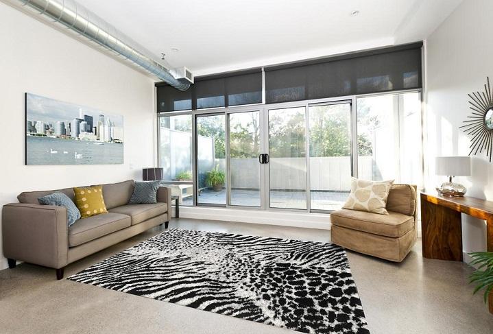thảm lông trải sàn phòng khách Tiara