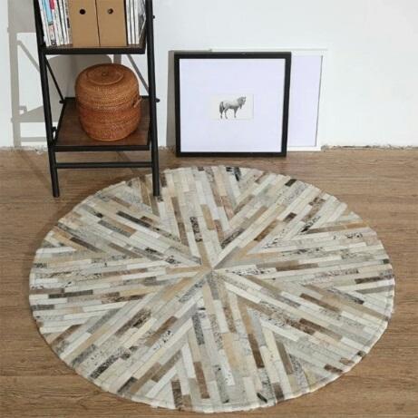 thảm sofa tròn Viki