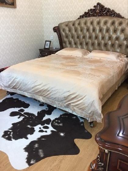 thảm lông thú trải sàn phòng ngủ