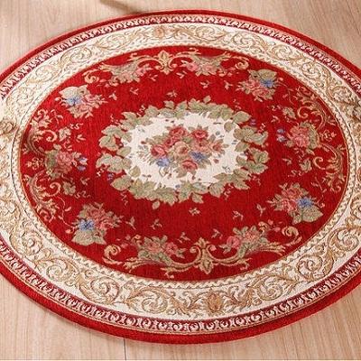 thảm phòng khách tròn-4