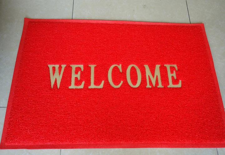thảm chùi chân welcome 1