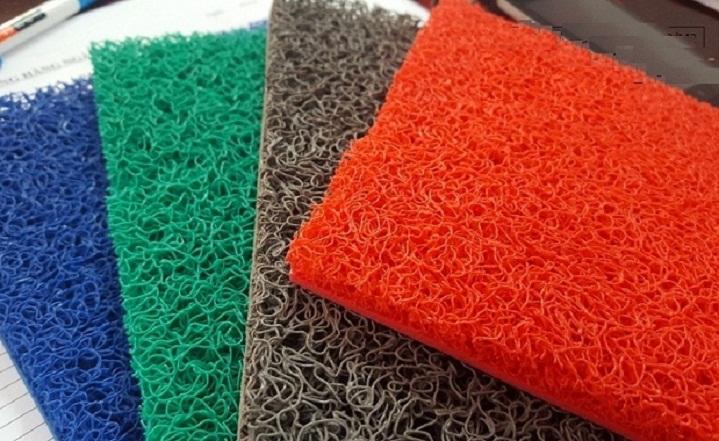 thảm nhựa chống trơn sợi mì 3 màu