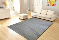 Thảm lông xù trải sofa Crystal
